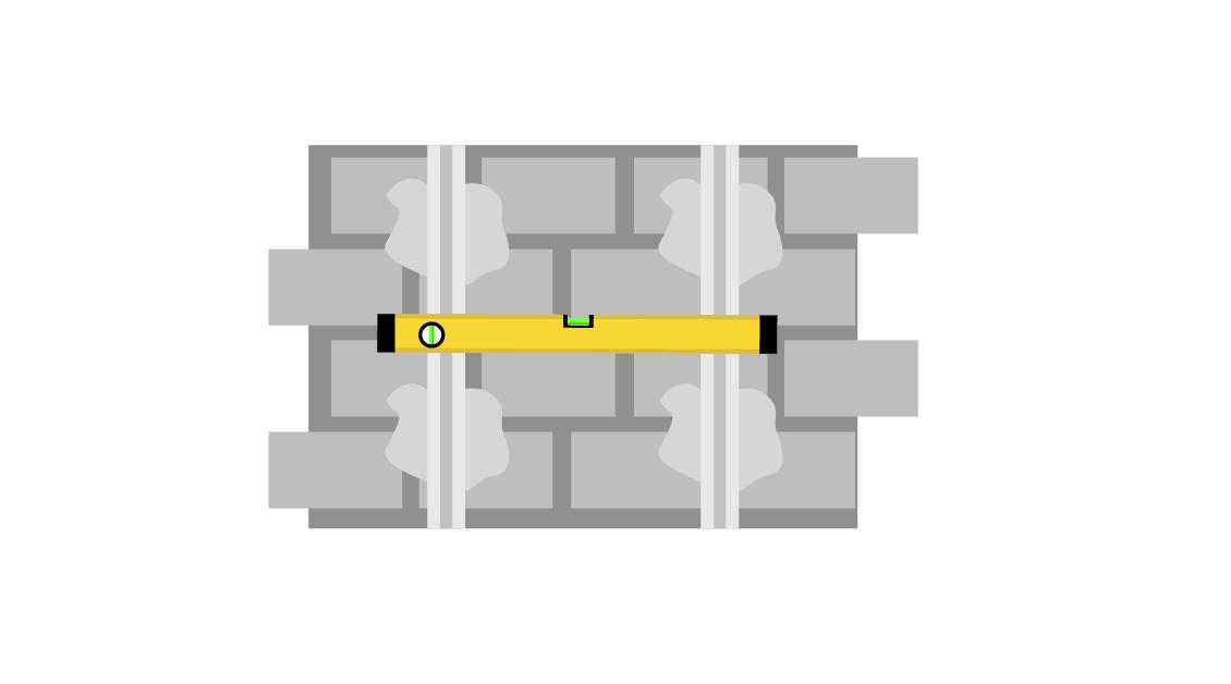 Проверка уровня между двумя маяками