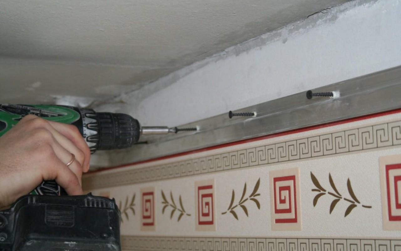Натяжные потолки своими руками