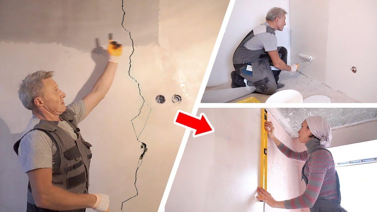 Правильная подготовка стен к поклейке обоев