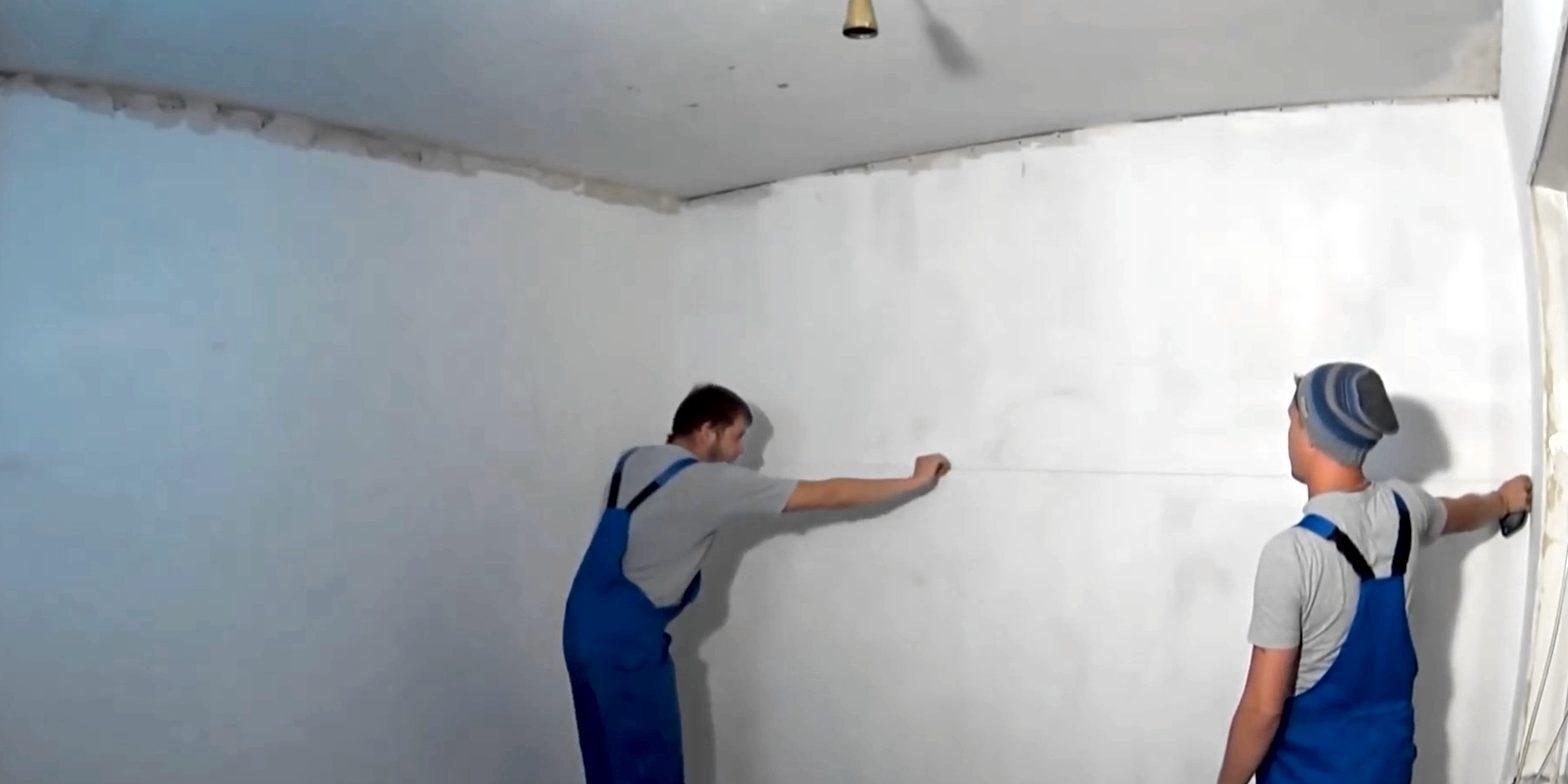 Рассчитайте положение подвесного потолка