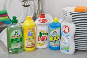 Средство для мытья посуд