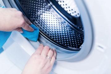 чистим стиральную машину
