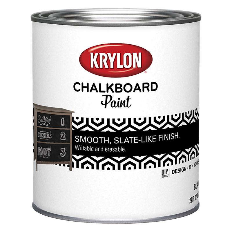 Krylon Chalkboard Paint спрей и жидкая (США)